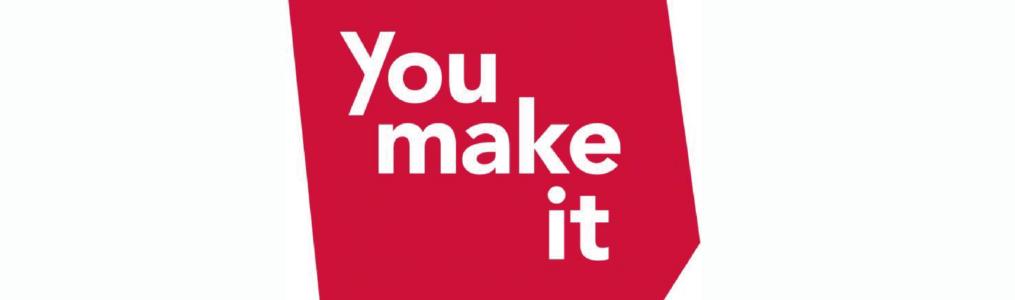 You Make It logo